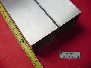 2 Pieces 3 x 3 x 1 8 Wall X 14 Long Aluminum Square Tube 6063 T52 3 sq X 125