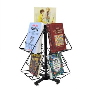 Post Card Greeting Card Birthday Party Card Dvd Book Display Metal Rack Stand