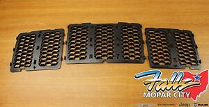 2014 2016 Jeep Grand Cherokee Black Honeycomb Grille Inserts Mopar Oem