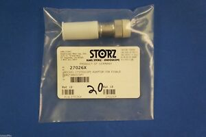 Karl Storz 27026x Nickel Cystoscope Adaptor For Female Urethroscopy