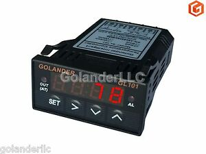 Universal 1 32din Digital F c Pid Temperature Controller Red