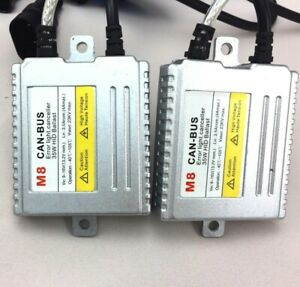 2x 35w Canbus Hid Xenon Ballast Pair Replacement No Error Fault Code Flicker