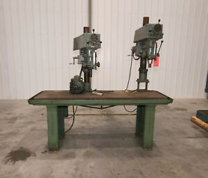 11704 2 Spindle Clausing Model 2285 502 20 Drill Press