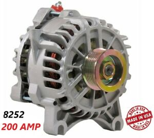 200 Amp 8252 Alternator Ford Mustang 1999 2004 4 6l New High Output Performance