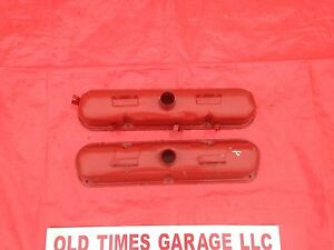 Mopar 1968 69 Dodge Plymouth 340 Original Valve Covers Cuda Dart 318 360 A Body