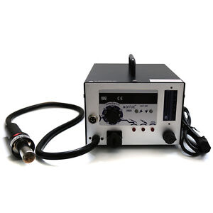 110v Soldering Tool Machine Aoyue Smd smt Hot Air 3 In1 Repair Rework Station