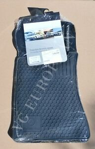 Mercedes benz W203 C Class Genuine All Season Rubber Floor Mat Set Mats New