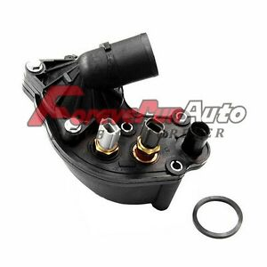 Thermostat Housing W Sensors For 97 01 Ford Explorer Mountaineer 4 0l 902 204