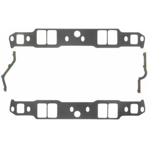 Fel Pro Intake Manifold Gasket Set 1263 Composite W Coating For Chevy Sbc
