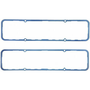 Fel Pro Valve Cover Gasket Set 1628 Silicone Steel Core Rubber 250 For Sbc