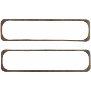 Fel Pro Valve Cover Gasket Set 1648 Cork Rubber W Steel Core 250 For Sbc