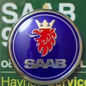 Saab 9 3 Cabrio 2004 2011 Trunk Badge