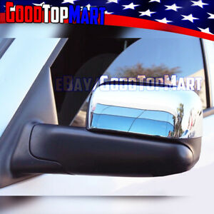 For Dodge Ram 2002 03 04 05 06 07 2008 Chrome Top Towing Mirror Style Covers
