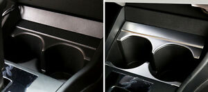 For Honda City 2014 2015 2016 2017 Abs Interior Console Cup Holder Cover Trim