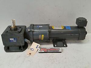 Baldor Right Angle Gear Motor Drive 5hp 90 Amp Boston 5 1 Planetary Reducter