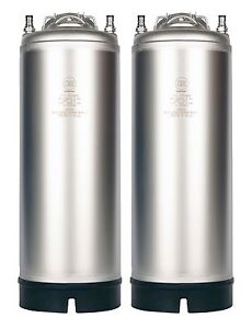 5 Gallon Ball Lock Aeb Keg New Two Pack Pressure Relief Homebrew Beer Coffee