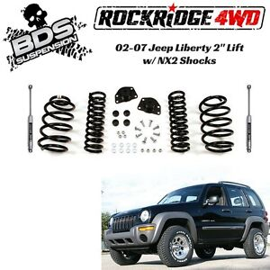 Bds Suspension 2 Pro ride Coil Spring Lift Kit For Jeep Liberty Kj 2002 2007