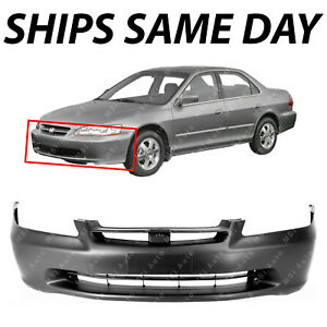 New Primered Front Bumper Cover Fascia For 1998 2000 Honda Accord Sedan 98 00