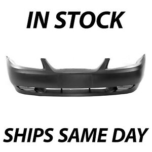 New Primered Front Bumper Cover Replacement For 99 04 1999 2004 Ford Mustang