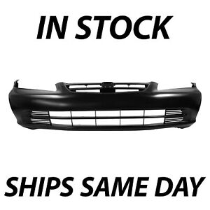 New Primered Front Bumper Cover Fascia For 2001 2002 Honda Accord Sedan 01 02