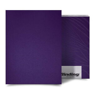 New Purple 16mil Sand Poly 11 X 17 Binding Covers 25pk Free Shipping