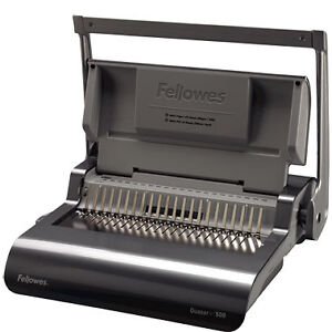 New Fellowes Quasar Plastic Comb Binding Machine 5227201 Free Shipping