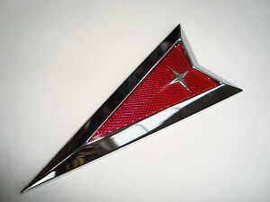 super New Huge Pontiac 4 Inch Chrome Emblem Gto Trans Am Firebird Torrent