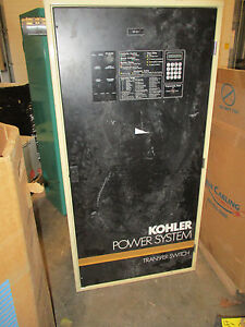 Kohler 800 Amp 480 Volt 3 Pole Automatic Transfer Switch Ats208