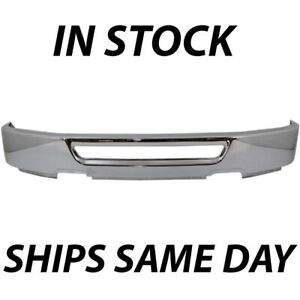 New Chrome Front Bumper Cover Face Bar For 2006 2007 2008 Ford F150 W out Fog