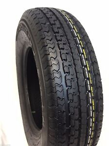 4 New St 225 75r15 Radial Trailer Tires 10 Ply Rated St225 75r15 225 75