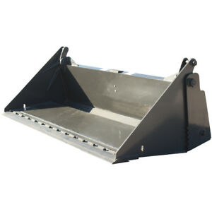 84 Inch Prowler Extreme Duty 4 n 1 Bucket With Bolt On Cutting Edge Attachment