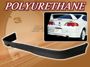 For 02 04 Acura Rsx T R Rear Bumper Lip Body Kit Spoiler Poly Urethane Pu