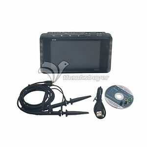 Arm Dso203 Quad Pocket 4ch Digital Oscilloscope W Black Insulating Plastic Case