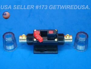 Inline Waterproof 12 Volt Battery Disconnect Cut Off Kill Switch Manual On