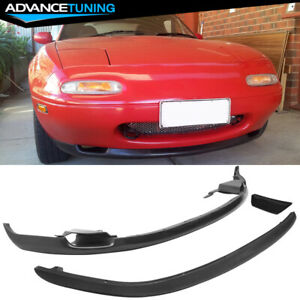 For 90 97 Mazda Miata Mx5 Style Front Rear Lip Bumper Spoiler Pu