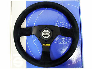 Sparco Steering Wheel R383 330mm 39mm Dish Suede