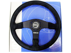 Sparco Steering Wheel R375 350mm 36mm Dish Suede
