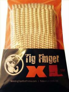 Tig Finger Xl Welding Gloves Heat Shield Guard Heat Protection By Weld Monger