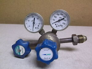 Linde Regulator C2upe3 Assembly W 2 Pressure Gauges free Shipping