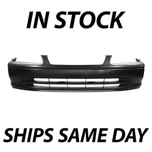 New Primered Front Bumper Cover Fascia For 2000 2001 Toyota Camry Sedan 00 01
