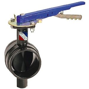 Nibco Gd 4765 3 Ductile Iron Butterfly Valve 2 1 2 Grooved Lever Lock Handle