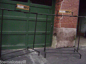 William Rast Double Garment Industrial Pipe Look Rack