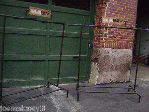 William Rast Double Pipe Garment Industrial Pipe Look Rack