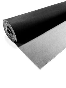 Black Automotive Headliner Auto Pro Fabric 3 16 Foam Backing 72 L X 60 Wide