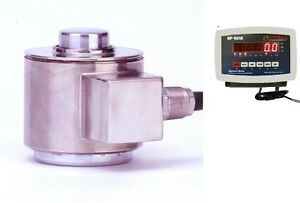 Compression Scale 300 000 X 10lb canister Stainless Steel Load Cell Indicator