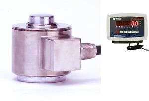 Compression Scale 500 000 X 10lb canister Stainless Steel Load Cell Indicator