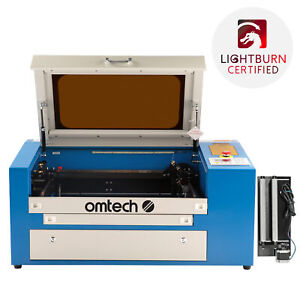50w 20 12 Co2 Laser Engraver Cutter Engraving Machine W Auxiliary Rotary 110v