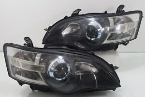 Jdm Subaru Legacy Liberty Bpe Bp5 Bl5 Sti Wrx Hid Head Lights Headlamp 2003 2005