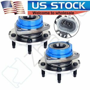2 Front Wheel Bearing Hub Assembly W Abs For Chevrolet Venture Cadillac Buick