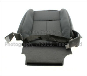 New Ford Oem Front Lh Left Driver Side Steel Gray Seat Cover 04 14 F150 Mark Lt